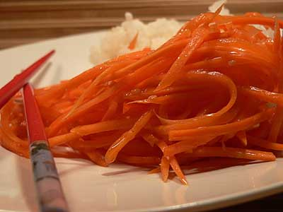 Морковь-ча — салат советских корейцев